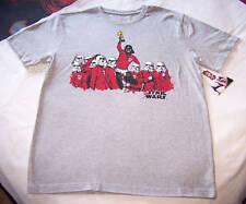 Star Wars Vader Mens Grey Printed T Shirt Size L New