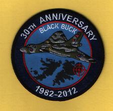 30th anniversaire de noir Buck (guerre des Malouines) - 1982-2012 brodé patch