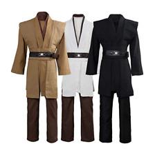 Star Wars Jedi Sith Anakin Skywalker Obi Kenobi Wan Cosplay Costume 3 Versions