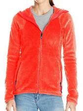 Burton AK Turbine Womens Full-Zip Fleece Hoodie Sweater Coral Dark Orange XL