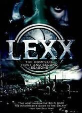 Lexx: Seasons 1 & 2 (DVD, 2012, 4-Disc Set) New