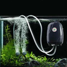 US/EU Plug Oxygen Air Pump For Aquarium Fish Tank Pet Acces Tools Adjustable