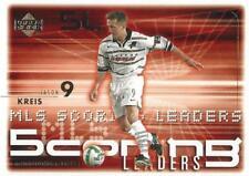 2000 Upper Deck Major League Soccer Base Cards International Stars (#94 - #103)