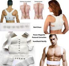 REGNO Unito, MAGNETE Postura Schiena Spalle correttore Supporto Brace Cintura terapia regolabile