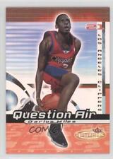 2000-01 Fleer Futures Question Air #6QA Darius Miles Los Angeles Clippers Card
