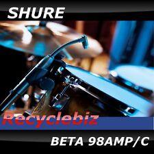 NEW! Shure Beta 98amp Microphone 98 amp/c  Beta 98 Mic Free US 48 State Ship!