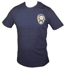 Polis T-shirt mit Druck Polis Dunkelblau