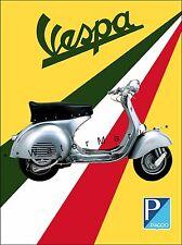 Vespa Piaggio Classic Italian Motor Scooter Vintage Poster Art Print Retro Art