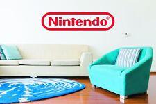 Nintendo Wall Art Logo Sticker Decal