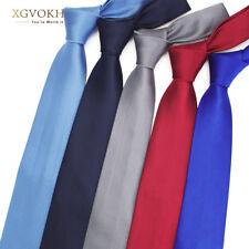 Men Necktie solid Formal wedding Men's ties 8cm dress shirt Accessories
