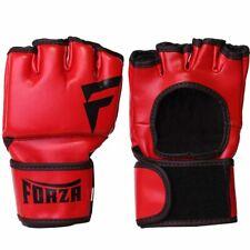 Forza MMA Vinyl Training Gloves - Red/Black