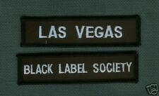 BLACK LABEL SOCIETY FAN MEMBER CLUB SERIES: LAS VEGAS BLS FAN CLUB PATCH SET