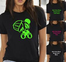 JDM Baby panda with Hat Jeep Car Truck women T shirt Tank Top