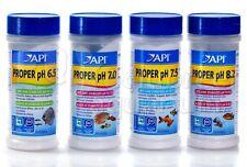 Proper pH Powdered Fish Aquarium Water Buffer 6.5, 7.0, 7.5 or 8.2 Jars API