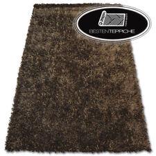 "Teppich angenehm zu berühren ""SHAGGY LILOU"" braun - gute Qualität Polyester"