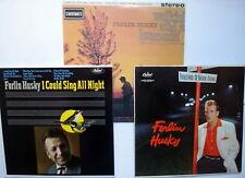 FERLIN HUSKY lot of 3 COUNTRY LPs Near-MINT # 6499