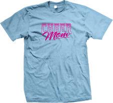 Cheer Mom Cheerleader Mother Daughter Team Squad Of School Am On Men's T-Shirt