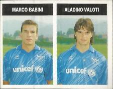 [AA] FIGURINA CAMPIONI & CAMPIONATO 1990/91-BRESCIA-BABINI-VALOTI