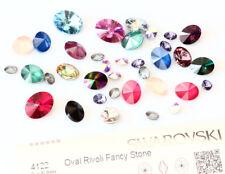 Genuine swarovski 4122 ovale rivoli fantaisie pierres cristaux * plusieurs couleurs