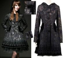 Manteau évasé gothique lolita baroque jacquard dentelle stylé Japon PunkRave