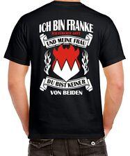 Franken T-Shirt Spruch ICH BIN FRANKE fränkisch furchtlos club ultras nürnberg