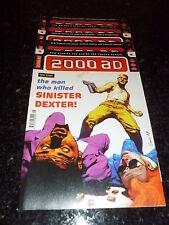 2000 AD Comic - 5 PROG JOB LOT - No's 1115 - 1119 (Dates 14/10/98 : 11/11/98 )