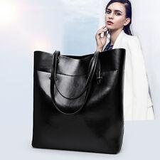 Large New Designer Women PU Leather Style Shoulder Bag Handbag