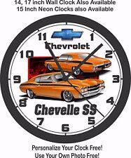 1969 CHEVROLET CHEVELLE SS WALL CLOCK-FREE USA SHIP