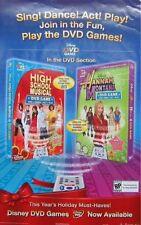 HIGH SCHOOL MUSICAL/ HANNAH MONTANA POSTER (MV14)