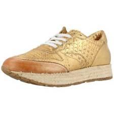 Damen Laufschuhe MJUS 677101 , Farbe Goldfarbe