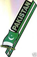 Pakistan Flag Bumper Sticker  New