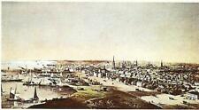 "Toronto: Canada West, 1854 by Edwin Whitefield - 19 X 23"" - Fine Art Poster."