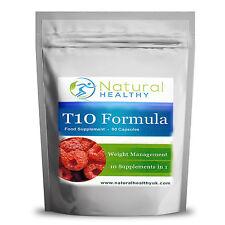 Black T10 Raspberry ketones Formula- High strength Fat burner - Best weight loss