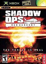 Shadow Ops: Red Mercury (Microsoft Xbox, 2004) GOOD