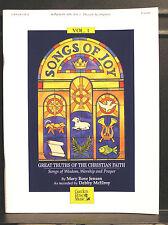SONGS OF JOY Christian Children's CD and P/V book - NEW