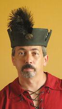 Medieval Celtic Renaissance SCA Larp Leather Noble Lord Hat No2