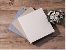 Peel N Stick 26cm Self Adhesive Jute Burlap Cover 20 Pg DIY Photo Album Wedding