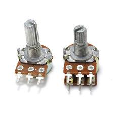 WH148 Linear Mono Stereo Pot Potentiometer B1K 2K 5K 10K 20K 100K 250K 500K 1M