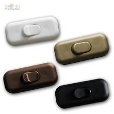 Schnurzwischenschalter Schnurschalter Zwischenschalter Kabel Wipp Schalter NEU