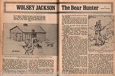 Wolsey Jackson, The Great Hound Dog Bear Hunter