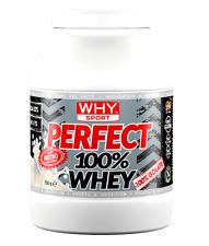 PERFECT WHEY 100% - 750 g - Proteine isolate del siero del latte - WHY Sport