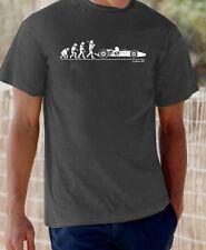 Evolution of Man, Lotus 49 Jim Clark t-shirt