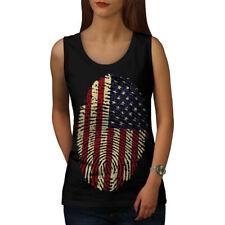 American Fingerprint Women Tank Top NEW | Wellcoda