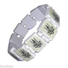2 Pcs Allah Yaali Bismillah Wood Bracelet Necklace Jewelry Wrist Jewellery