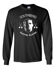 390 South Bend Shovel Slayer Long Sleeve shirt chicago christmas holiday movie