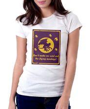 Wizard of Oz Scimmia volante Strega white cotton t-shirt fn9888