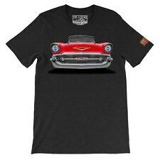 1957 Chevy Bel Air The Legend Classic Car Men's Gift T-shirts - American Car