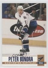 2003-04 Pacific Blue #340 Peter Bondra Washington Capitals Hockey Card