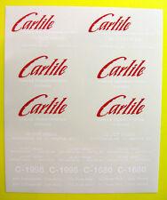 Tamiya 1/14 Truck 'Carlile' ice road stickers decals