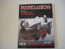 RUOTECLASSICHE 5/1996 NARDI/AUTO AVIO/FIAT 850 COUPE'/SPIDER/FORD COBRA/AUDI V8